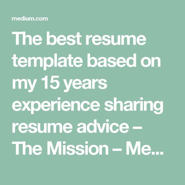 Description. The Best Resume ...