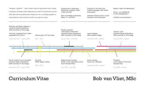 data visualization resume 16 infographic resumes a visualtrend