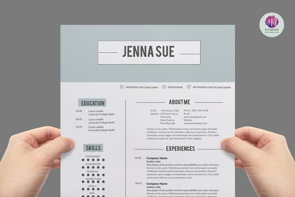 Resume Chic Modern Package
