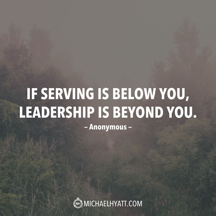 Image of: Mask The Quote Joblovingcom Leadership Quote if Serving Is Below You Leadership Is Beyond