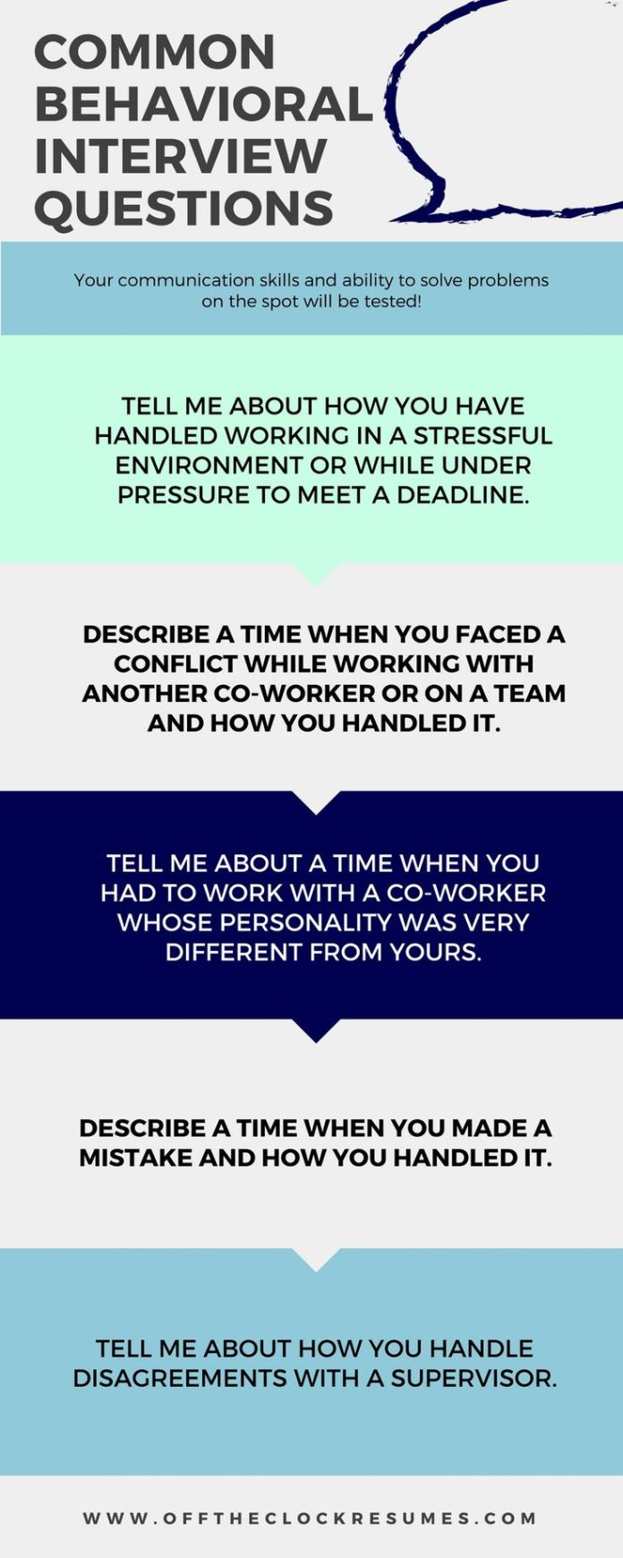 interview questions daily how long should a resume be examples infographic best answers to common behavioral - Airline Pilot Job Interview Questions And Answers