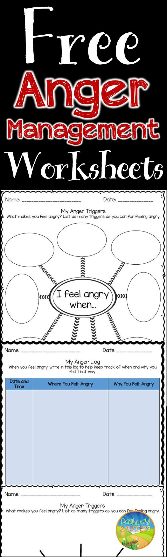 It's just a graphic of Astounding Free Printable Anger Management Activities