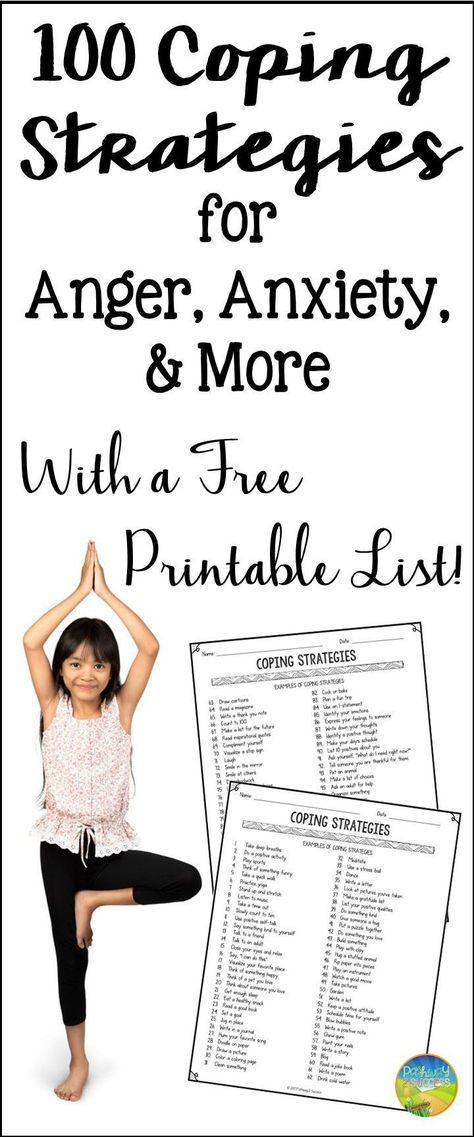 stress management   get your free printable list of 100