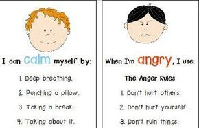 Anger Management Fact Sheets- this is AWESOME! And I should really ...