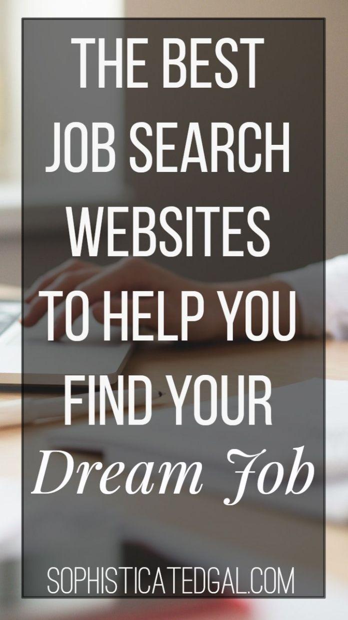 description the best job search websites