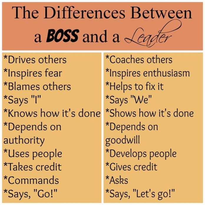 Work Quotes Servant Leadership The Difference Between A Boss And