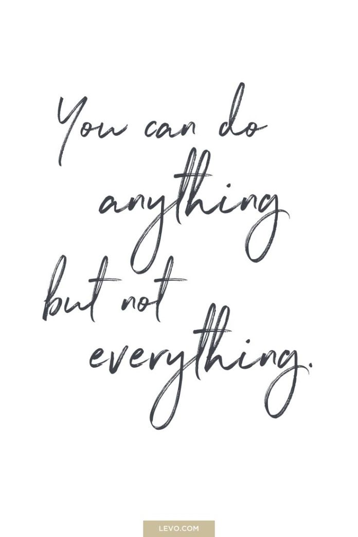 Work Quotes You Can Do Anything But Not Everything Quote Daily