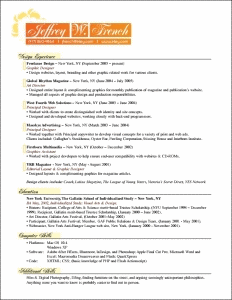 french resume examples