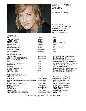 77 Brilliant Celebrity And Celebrity Wannabe Acting Resumes