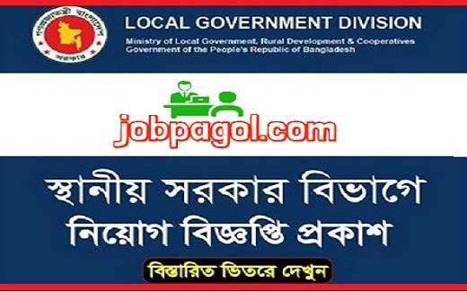 Department of Local Government Division Job Circular