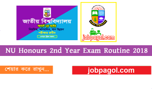 NU Honours 2nd Year Exam Routine