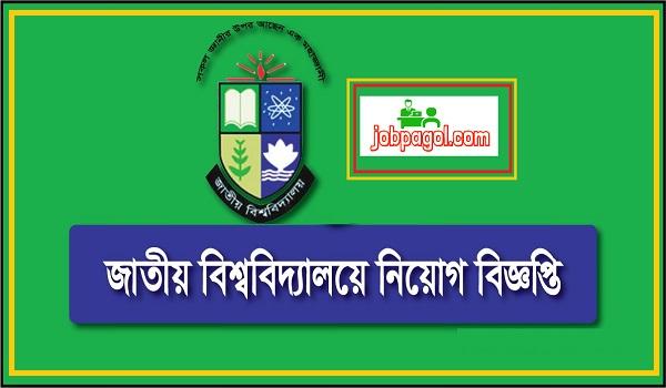 National University Job Circular
