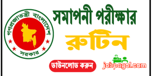 PSC Exam Routine www.dpe.gov.bd