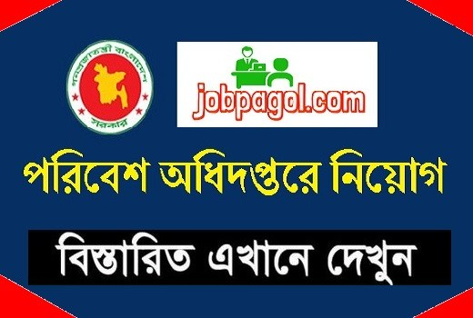 Department of Environment Job Circular