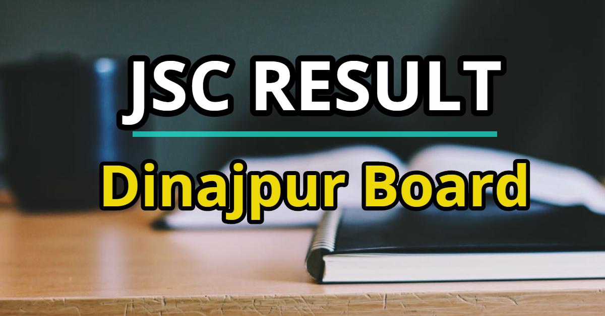 JSC Result 2019 Dinajpur Board