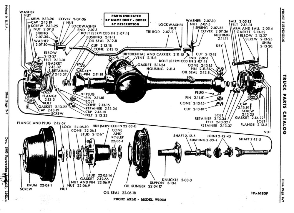 medium resolution of centered rear axle for wdx wm300 power wagons