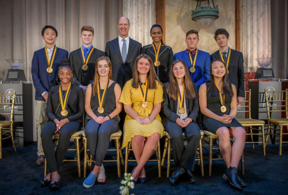 2020 Prudential Spirit of Community Award Scholarship.