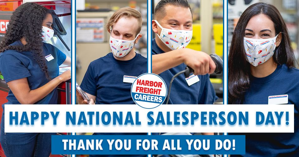 Happy National Salesperson Day!
