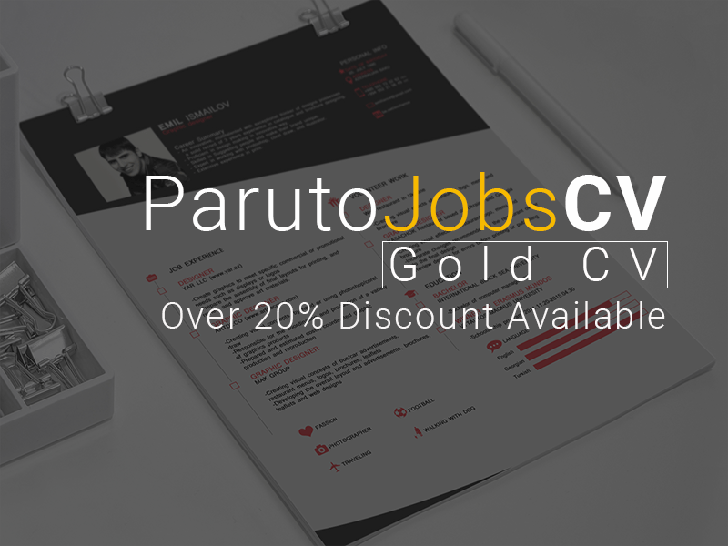 Gold CV + Cover Letter (5 – 9 Years Experience)