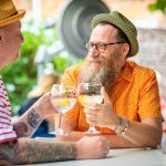 Enjoy a gin or two with Friends at Pallant House