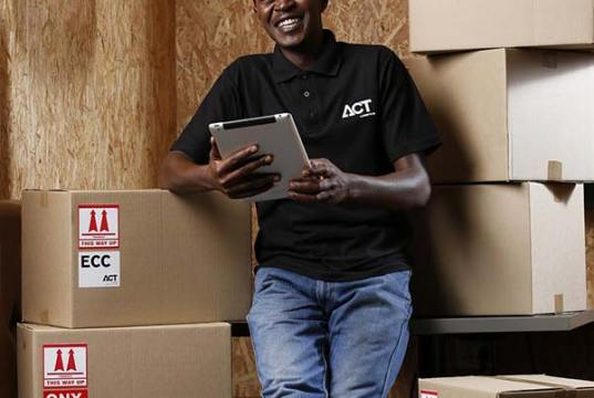 Warehouse delivery driver