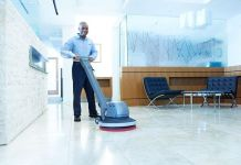 Part time office cleaner