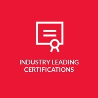 Industry Leading Certification Logo
