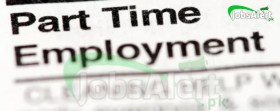 Part Time Jobs For Matric, Intermediate Students Online in Pakistan