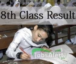 8th Class Result