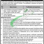 Public Sector Organization Lahore Jobs