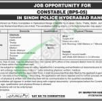 Sindh Police Jobs