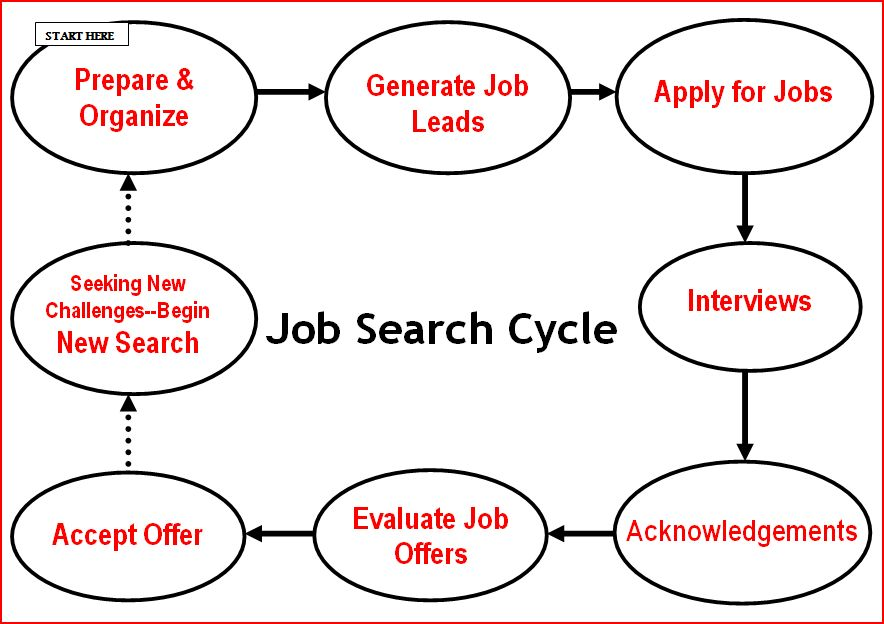 Best Job Search Strategies - Industry Job Search Cycle ...