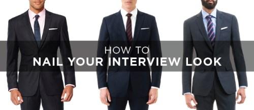 Job interview clothes for men