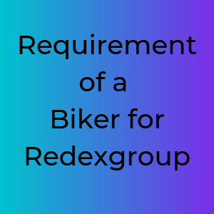 Requirement of a Biker for Redexgroup