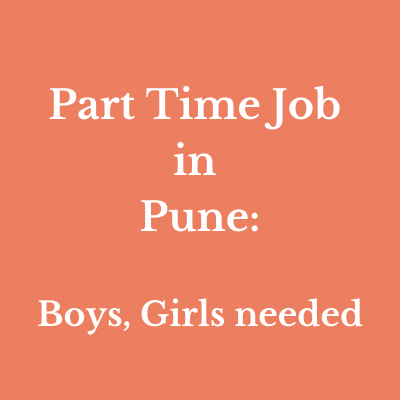 part time job in pune