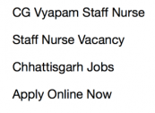 cgvyapam staff nurse recruitment 2017 2018 application form paricharika chhattisgarh cg vyapam apply online jobs latest vacancy posts 994