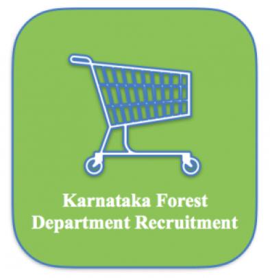 karnataka forest department recruitment 2018 kfd vacancy application form download apply online karnataka forest guard deputy range forest officer dfro post