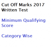 wbgdrb group d qualifying score minimum cut off marks 2017 category wise sc st general expected probable written test exam gr