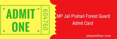 download mp vyapam jail prahari admit card 2018 mppeb peb.mp.gov.in Madhya pradesh Jail warder exam date hall ticket publishing expected date