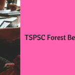 TSPSC Forest Beat Officer Recruitment 2018 Vacancy 1857 Posts