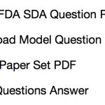 KPSC FDA SDA Previous Question Paper Download Solved PDF Assistant