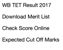 wb tet result 2017 primary expected cut off marks merit list publishing date WBBPE teacher eligibility test result west bengal