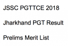 jssc pgt result 2017 2018 expected cut off marks pgttce post graduate teacher merit list expected cut off marks jharkhand