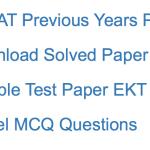 AFCAT EKT Previous Years Question Paper Download Solved PDF