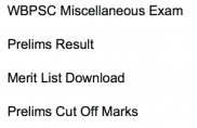 wbpsc miscellaneous result service exam 2018 merit list publishing date cut off marks expected result date publishing west bengal psc pscwbonline.gov.in