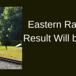 Eastern Railway Apprentice Result 2018 ER Merit List Cut Off Marks