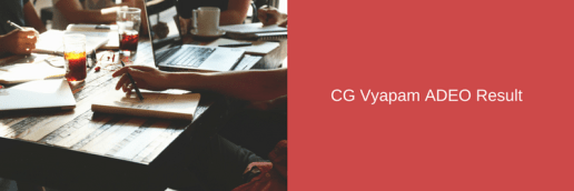 cg vyapam agdo result 2018 adeo assistant grade 3 deo data entry operator merit list expected cut off marks
