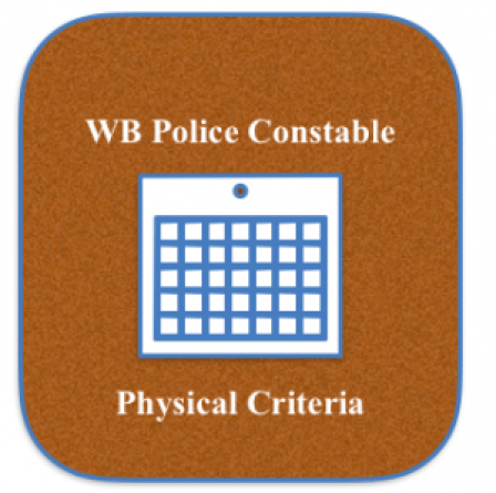 wb police physical eligibility criteria minimum physical standard requirement height chest weight minimum pmt pet efficiency test medical