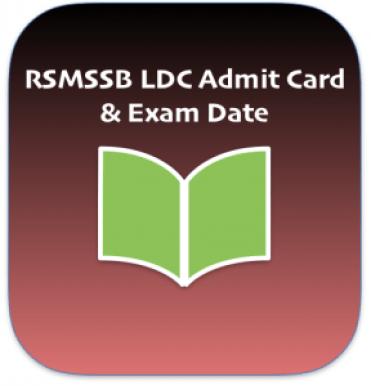 rsmssb ldc admit card 2018 download lower division clerk junior assistant clerk ldc hall ticket downloading date starting published