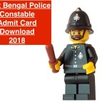 WB Police Constable Admit Card 2018 Download policewb.gov.in